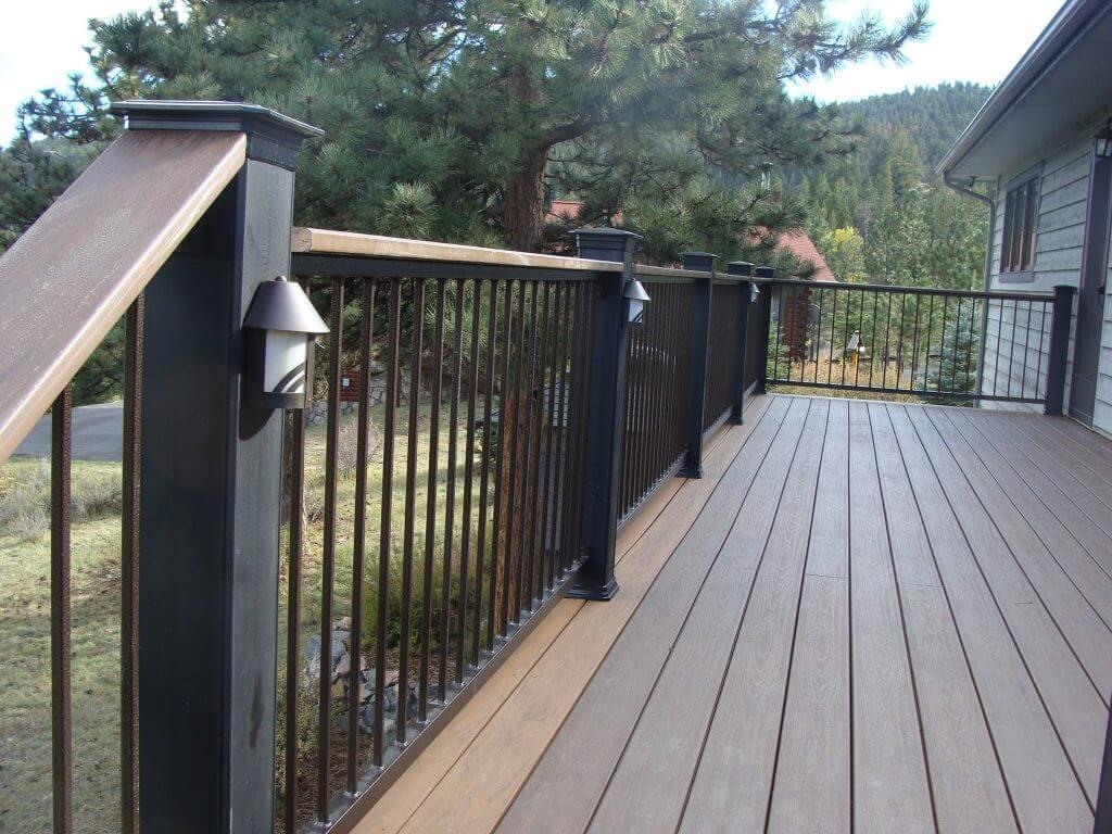 Metal Deck Railings Fort Collins