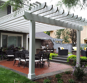 Pergola designs Fort Collins