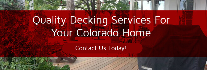 Welcome Spring In Style With Your Fort Collins Deck Builders Part 1